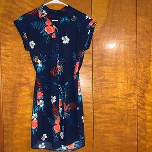 Midi Button-Up Summer Dress